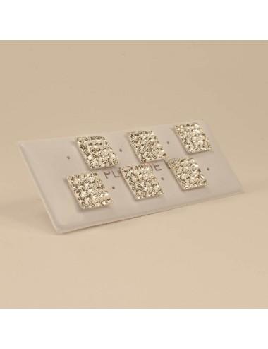 Mosaico Cuadrado Blanco 10x10