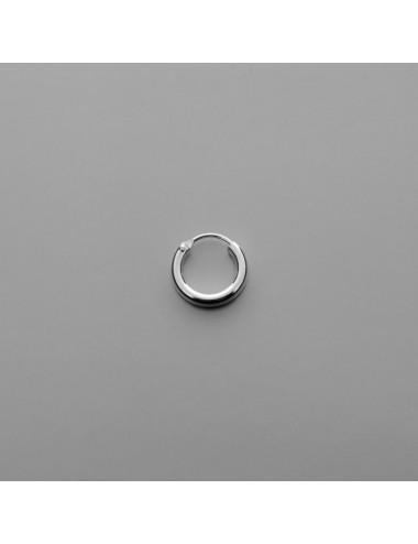 PENDIENTE PLATA ARO LISO 2.5 x 14 mm 3 PARES