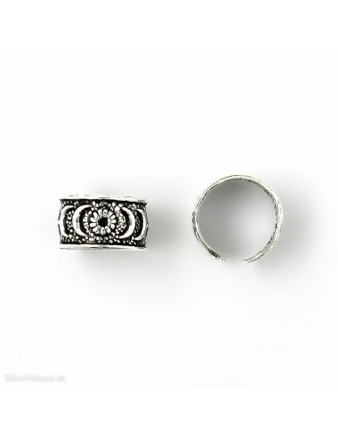 4600026 - Ear cuff o arete de plata para el helix, 2 unidades