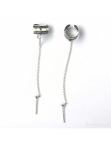 Arete cartilago con cadena