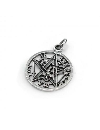 Colgante plata tetragramaton 18 mm