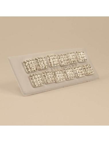 Mosaico Cuadrado Blanco 9x9