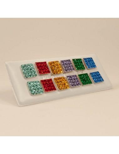 Mosaico Cuadrado Color 9x9