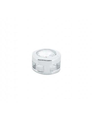 1000616 Colgante de plata chatón con circonita 8 mm