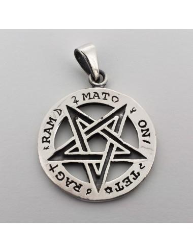 1000043 - Colgante de plata tetragramaton