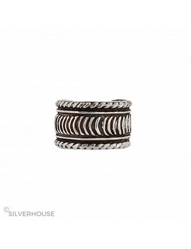4600893 - Ear cuff o arete de plata para hélix