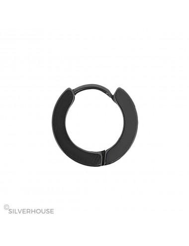 5600158 - Aro de acero negro perfil plano 4 x 9 mm, 6 unidad